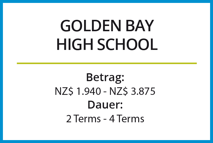 Stipendium Golden Bay High School
